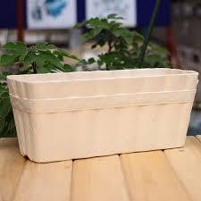 creative ideas with rectangular planters u2014 the homy design