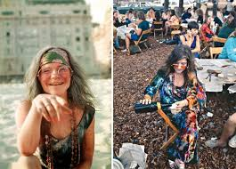 girls from woodstock 1969 show the origin of todays fashion