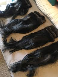 Double Weft Hair Extensions by Foxy Locks Black 20