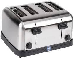 4 Slice Toaster White Waring Wct708 4 Slice Commercial Toaster 120v Commercial
