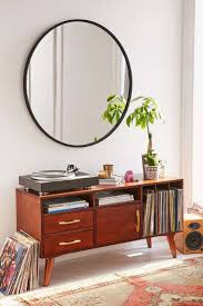 Bathroom Mirror Ideas Pinterest by 40 Inch Round Black Mirror Vanity Decoration