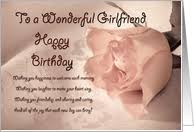 card invitation design ideas girlfriend birthday card romantic