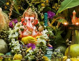 today is vinayaka chavithi the festival of lord ganesha here is