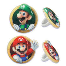 Super Mario Decorations Super Mario Bros Cake Decorations Ebay