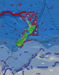 Ocean Currents Map Nzcirc Jpg
