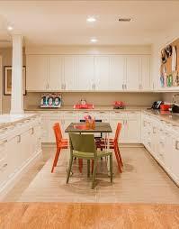 Ceiling Height Cabinets Jill Litner Kaplan Interiors Basements Craft Room Basement