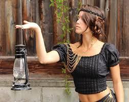 plus size pirate blouse pirate blouse etsy