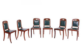 set of six louis philippe chairs by jacob ref 59775