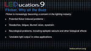 Led Light Flicker Problem Led Light Quality Achieving Natural Dimming Performance Without Flic U2026