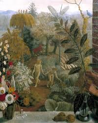 adam and eve in the garden of eden u0027 charles mahoney exhibited