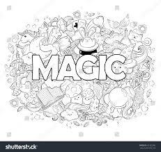 halloween concept hand drawn cartoon doodle stock vector 631325000