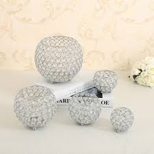 wedding centerpiece candle holders crystal votice candle lantern