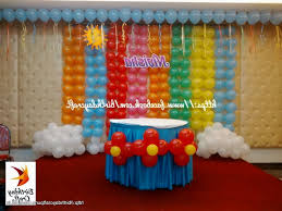 birthday decoration images at home home made decoration for birthday party simple party home decoration