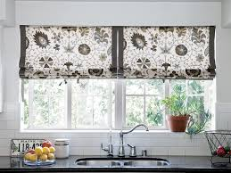 kitchen blinds shades and window treatments appealing ikea window