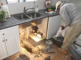 Water Under Bathroom Floor Cabinet How To Replace Kitchen Floor Without Removing Cabinets