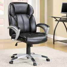 black modern desk modern leather desk chair with elegant black modern desk chairs