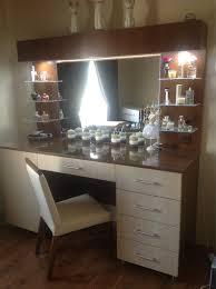 Glass Makeup Vanity Table Makeup Vanity Glass Shelf Google Search Vanity Table