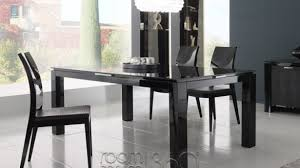 Lacquer Dining Room Sets Impressive Black Lacquer Dining Table On Cozynest Home