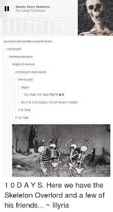 Spooky Scary Skeletons Meme - 25 best memes about spooky scary skeleton spooky scary