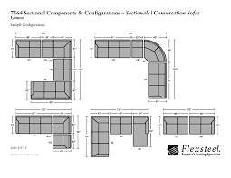 Sofa Sizes Sectional Sofa Sizes Gallery For Sectional Dimensions Gallery