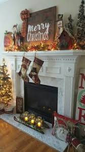 Tall Christmas Decorations For Mantle by Farmhouse Christmas Mantel Holiday Inspiration Christmas