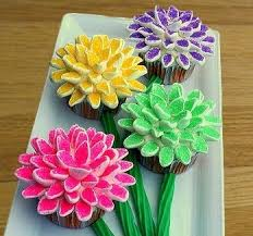 cupcake flowers how to make marshmallow flower cupcakes with pictures