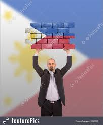 Phippines Flag Flags Man Holding Philippines Flag Stock Picture I3786667 At
