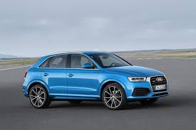 audi jeep q3 for 2016 the audi q3 gets a sharper look and a slightly higher