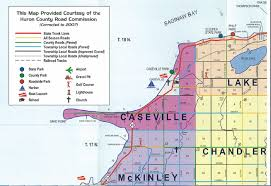 Map Of Troy Michigan by City Of Caseville Home