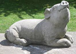10 best pig statues images on garden statues gardens