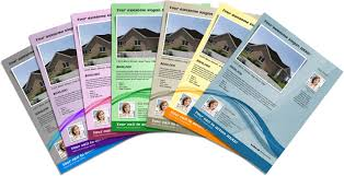 Real Estate Marketing Flyers Templates by Digital Marketing And Print Solutions Customer Service Center