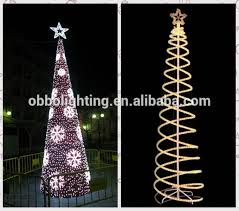 spiral tree led merry cristmas