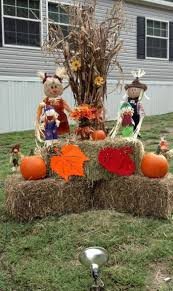 fall outside decorations easy homemade halloween decorations