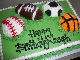 sport theme cakes girls sweet treats susan birthday