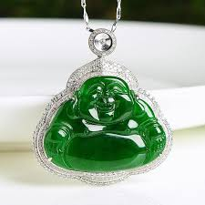 natural jade necklace images Natural jade pendant jadeite gold buddha pendant pt22 jade nature jpg