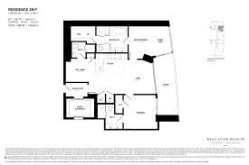 2 Bedroom Condo Floor Plans Delectable 60 Luxury Condo Floor Plans Design Inspiration Of 28