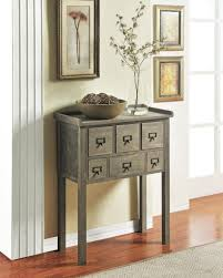 Entrance Console Table Furniture Innovative Hallway Accent Table Furniture Brown Wooden Table For