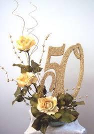 50th anniversary centerpieces anniversary 50th final centerpiece