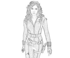 avengers thor coloring female superhero coloring pages