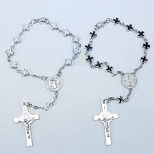 auto rosary st benedict auto rosary ja213