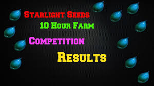 starlight seeds 10 hours results contest winners world of