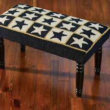 piper classics home furnishings hooked rugs and chair pads