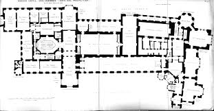 Floor Plan Castle Windsor Castle First Floor Plan Under George Iv Circa 1825