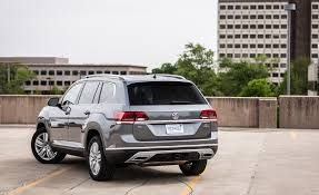 volkswagen atlas white 2018 volkswagen atlas in depth model review car and driver