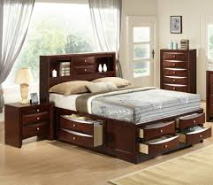 Black Wood Bedroom Furniture Sets Uncategorized Black Modern Wooden Headboard Storage Bedroom