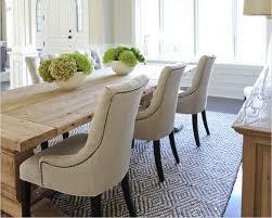 chaise de salle manger design chaise fauteuil salle manger gris design en tissu et pieds en