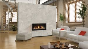 stylish white wall partition with likable modern direct vent gas