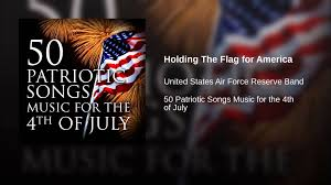 Holding The Flag Holding The Flag For America Youtube