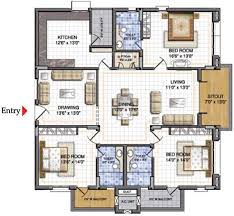 Best Free Floor Plan Drawing Software by Ncc Nagarjuna Residency In Gachibowli Hyderabad Price Location