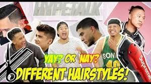 fungbros haircut richie le hair